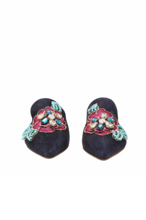 Женские сабо Boogie Тоска Блю (Tosca Blu shoes)